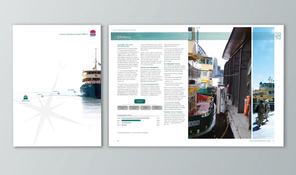 Annual report for Sydney Ferries